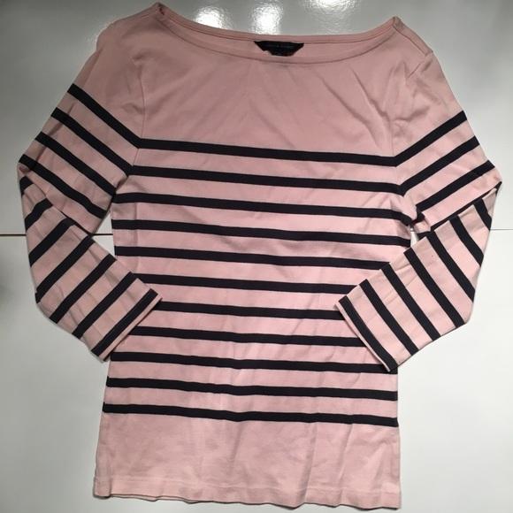 248d614596f ... black striped 3 4 sleeve. M 5ac7977f1dffda4ea361e29a